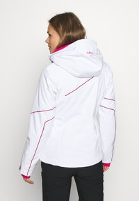 CMP - WOMAN JACKET ZIP HOOD - Ski jacket - bianco - 2