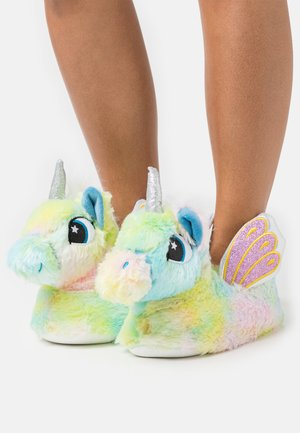 UNICORN SLIPPERS - Hjemmesko - multicolor