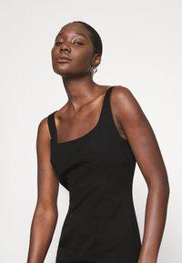 Banana Republic - NECK SHEATH SOLID - Day dress - black - 4