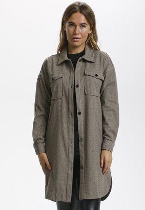BPULLA  - Short coat - taupe gray melange