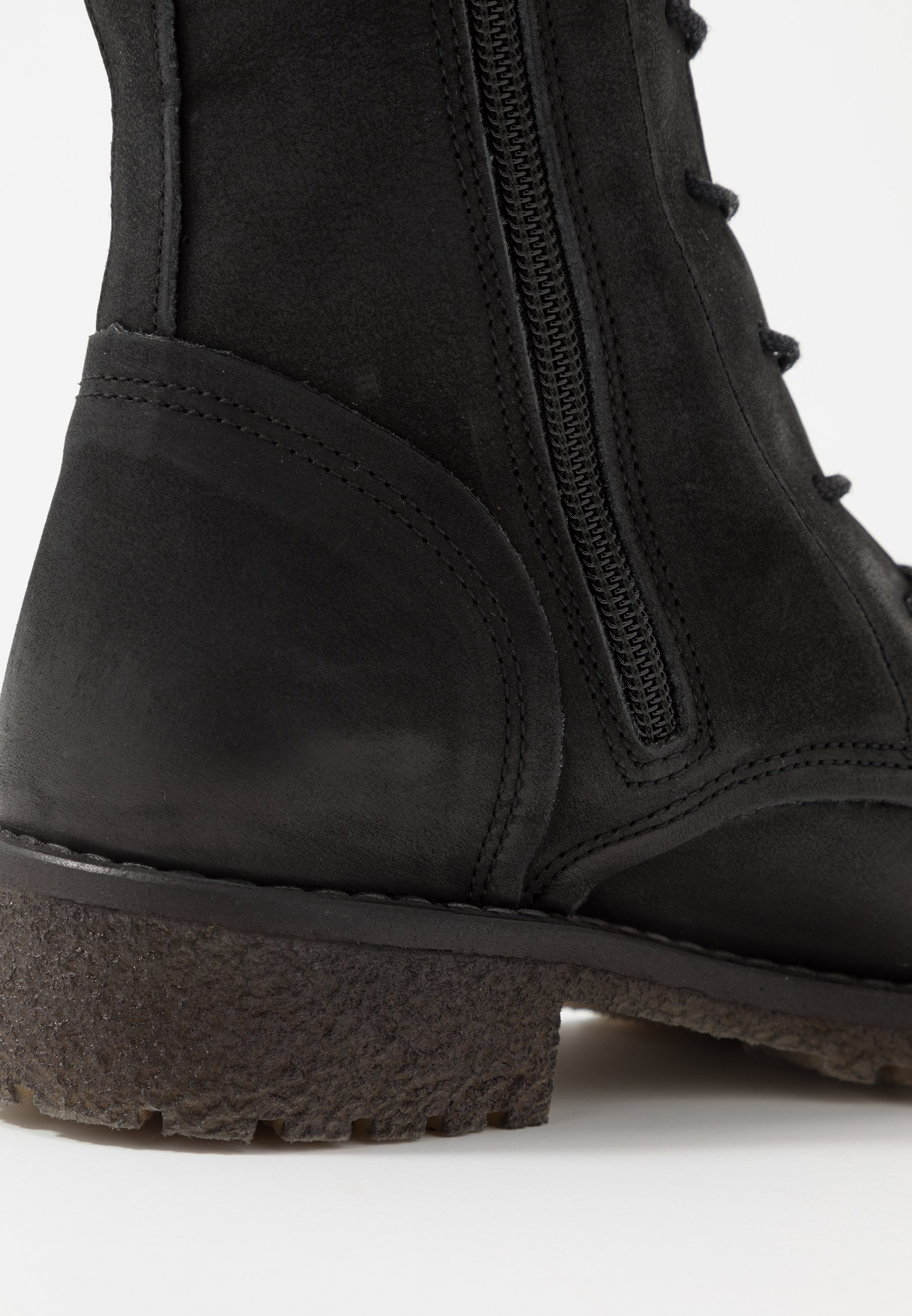 Felmini CASTER Schnürstiefelette morat black/schwarz