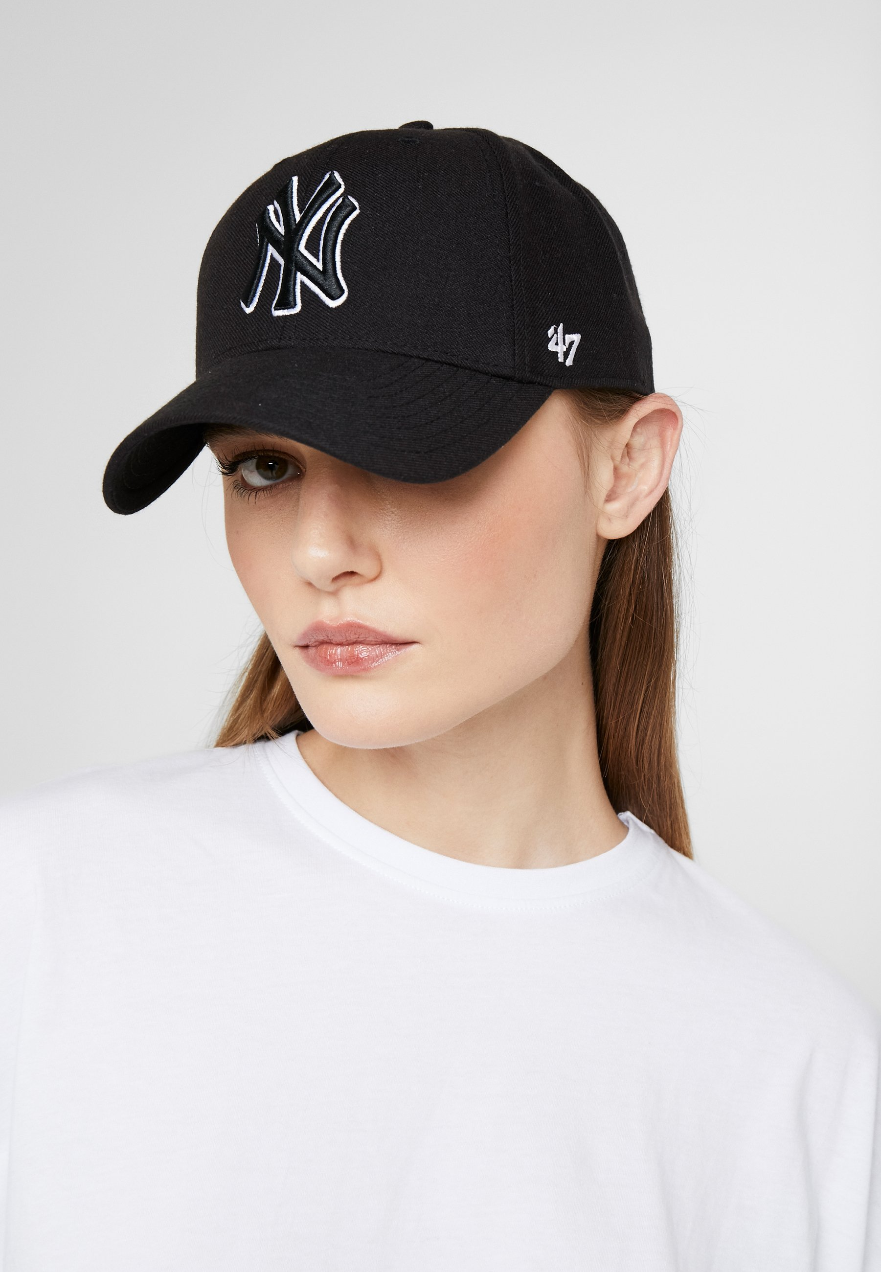 '47 NEW YORK YANKEES - Cap - black/svart 2802Y4IQKHWI3yR