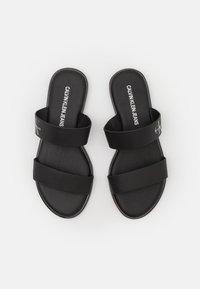 Calvin Klein Jeans - FLAT TWO STRAPS - Pantofle - black - 5