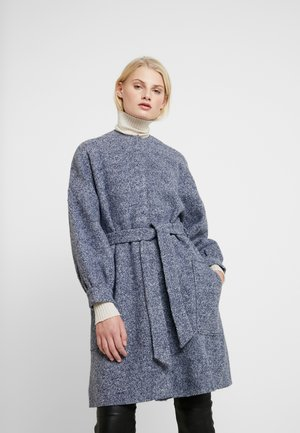 THEA - Classic coat - greyish blue