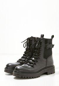 Inuovo - Platform ankle boots - blackblk - 3