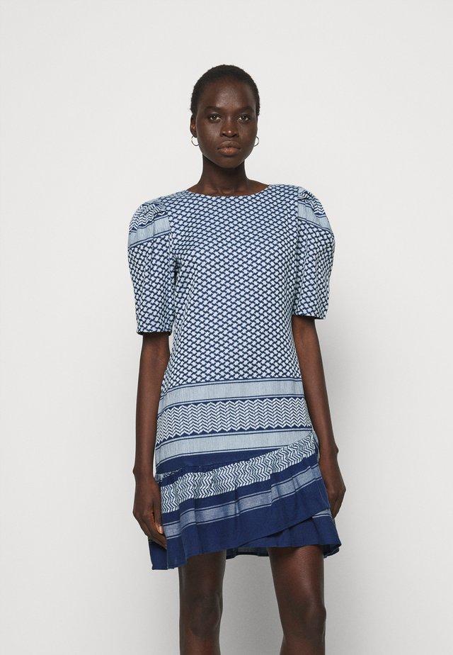 OLIVIA - Robe d'été - twilight blue