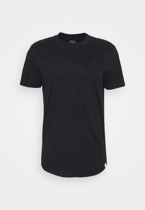Only & Sons ONSDASH LIFE LONGY - T-shirt basic - black/czarny Odzież Męska QBWX