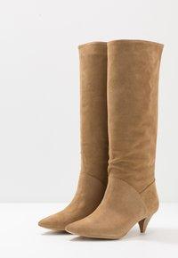 L37 - OPEN MIND HIGH - Boots - beige - 4