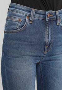 Nudie Jeans - HIGHTOP TILDE - Jeansy Skinny Fit - blue stellar - 3