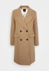 SLFSASSY COAT - Klasický kabát - tigers eye