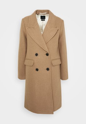 SLFSASSY COAT - Kåpe / frakk - tigers eye