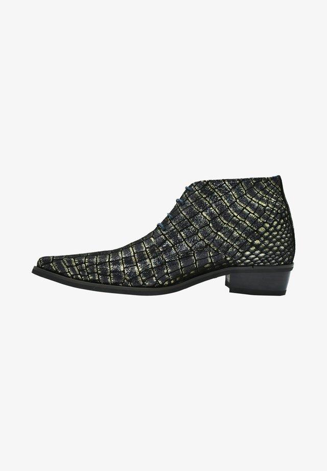 Veterboots - black croco