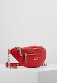 Guess - CALEY BELT BAG - Rumpetaske - red - 4