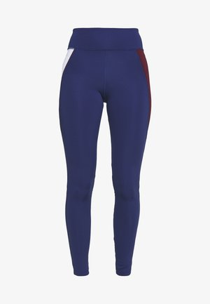HIGHWAIST TRAINING LEGGING - Leggings - blue