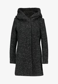 ONLY - ONLSEDONA COAT - Kort kappa / rock - black/melange - 4