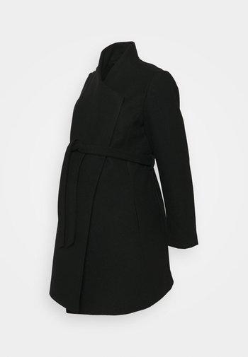 MLNEWROXY COAT - Kort kåpe / frakk - black