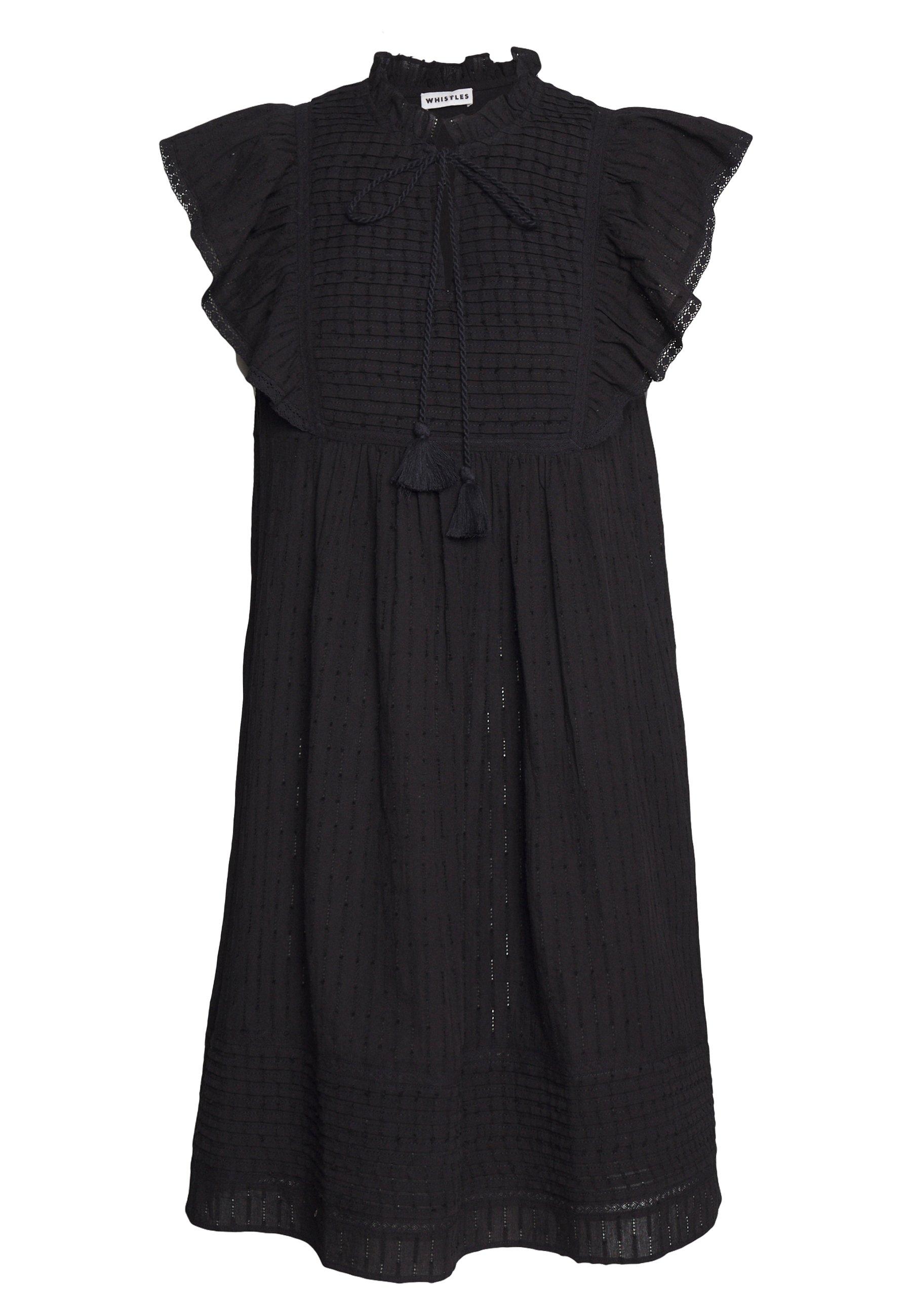 Women PINTUCK FRILL DRESS - Day dress