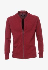 CASAMODA - Zip-up sweatshirt - dark red - 0