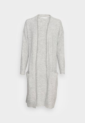 ONLSILJA LONG CARDIGAN - Vest - light grey melange