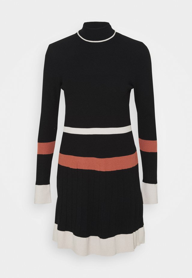 CINEMA - Jumper dress - black pattern
