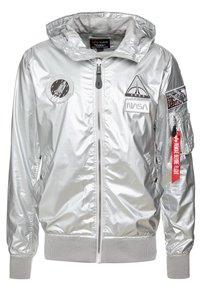 Alpha Industries - HOODED NASA - Summer jacket - silver - 0