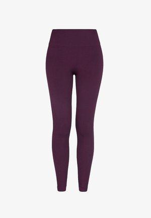 Leggings - plum