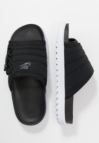 Nike Sportswear - CITY SLIDE - Muiltjes - black/anthracite/white - 3