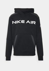 Nike Sportswear - AIR HOODIE - Hoodie - black/dark smoke grey/white - 4