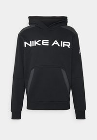 Nike Sportswear - AIR HOODIE - Jersey con capucha - black/dark smoke grey/white - 4