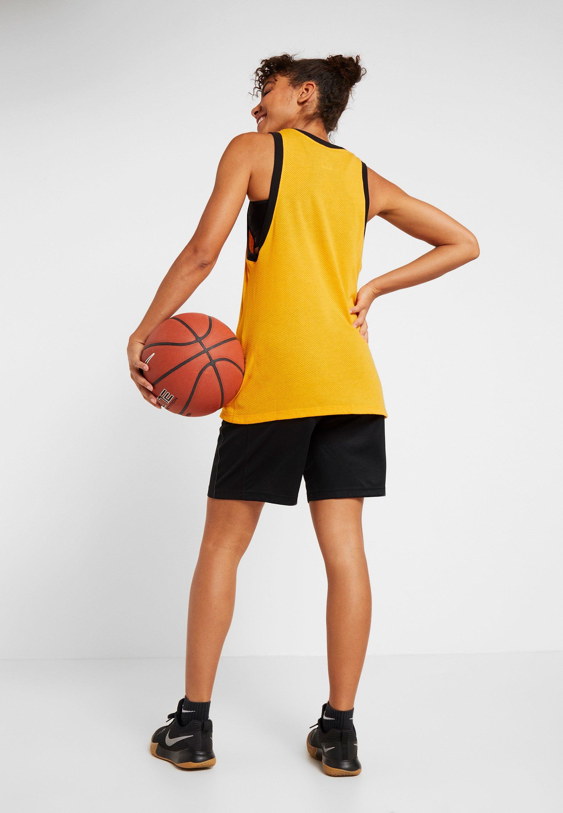 Nike Performance NIKE DRI-FIT DAMEN-BASKETBALLSHORTS - Sports shorts - black/anthracite x29cK