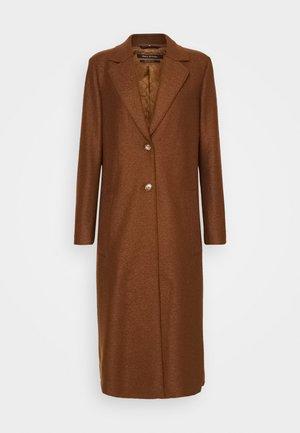 Classic coat - chestnut brown