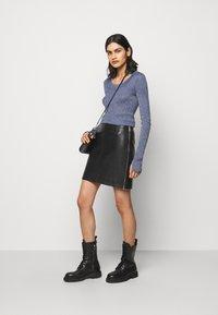 HUGO - LOMIAS - Mini skirt - black - 1