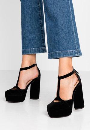 ZENDAYA TEXTILE MARY JANE - High heels - black
