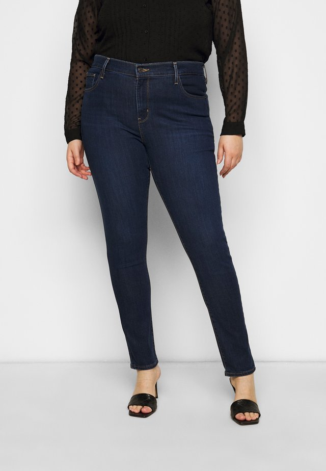 721 PL HI RISE SKINNY - Jeansy Skinny Fit - dark-blue denim