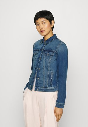 Kurtka jeansowa - blue medium wash