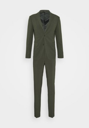 PLAIN MENS SUIT - Traje - army