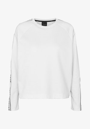 TECH CLUB CREW - Long sleeved top - white