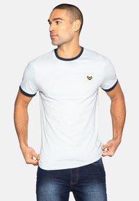 Threadbare - SAYER - T-shirt print - purist blue - 0
