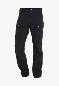 Haglöfs - MID FJORD PANT MEN - Outdoor trousers - true black - 4
