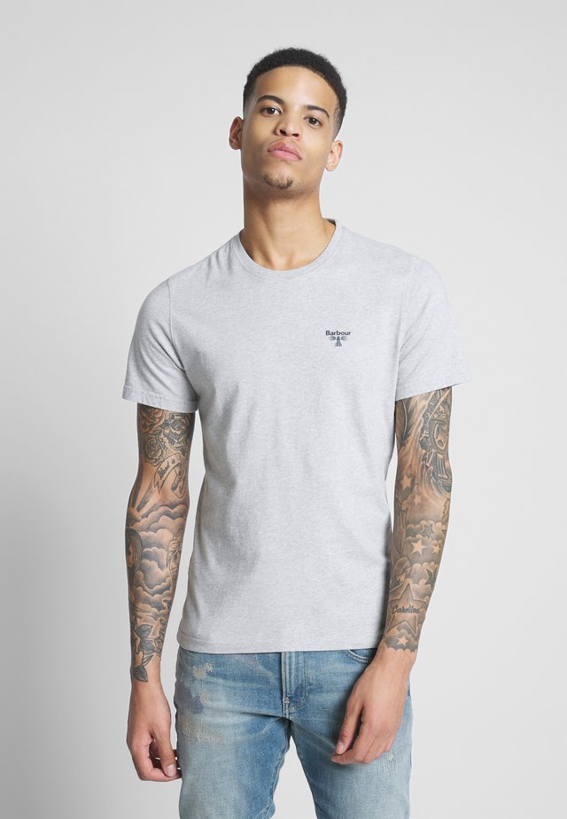 TEE - T-shirts - grey marl