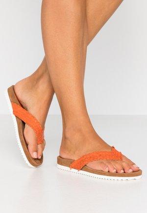 Flip Flops - orange
