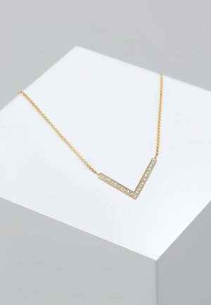 Necklace - gold-coloured