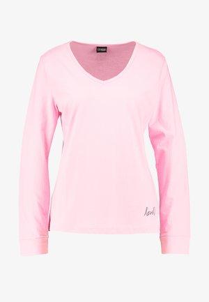 LONGSLEEVE - Pyjama top - pink