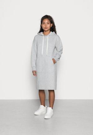 OBJKAISA DRESS - Sukienka letnia - light grey melange
