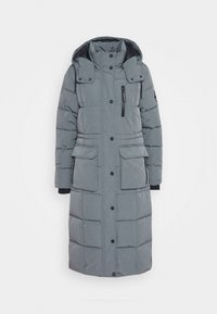 Superdry - LONGLINE EVEREST COAT - Winter coat - slate - 5