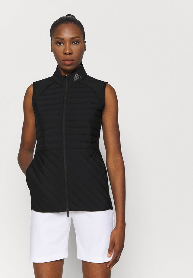 PERFORMANCE SPORTS GOLF FILLED VEST - Waistcoat - black