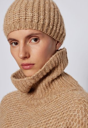 ZALETTA - Beanie - light brown