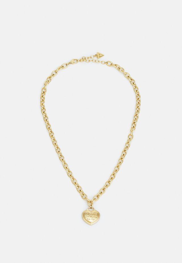 FOLLOW MY CHARM - Necklace - gold-coloured