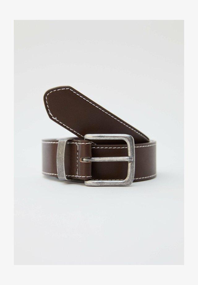 Bælter - mottled light brown