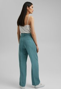 Esprit Collection - Trousers - dark turquoise - 2